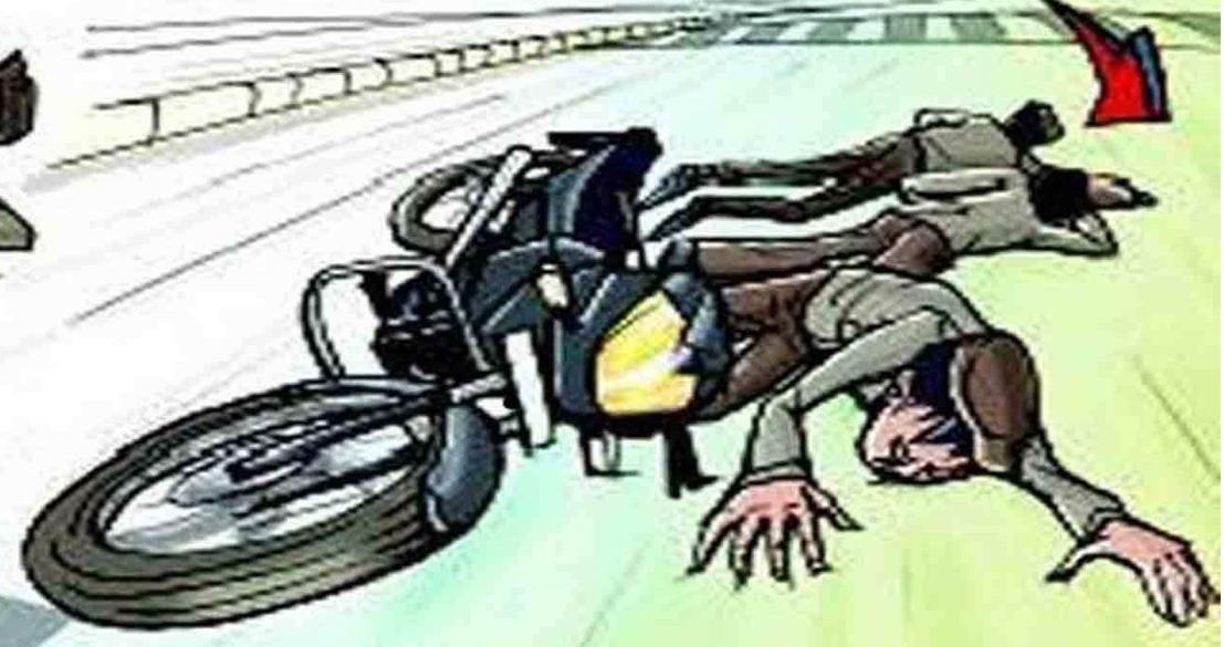 टीकापुरमा मोटरसाइकल दुर्घटना हुँदा १ को मृत्यु